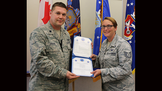 House Promoted to Master Sgt